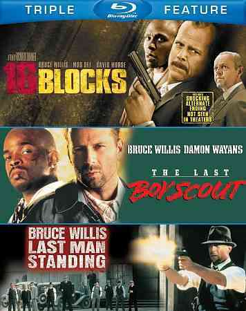 16 BLOCKS/LAST BOY SCOUT/LAST MAN STA BY WILLIS,BRUCE (Blu-Ray)